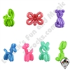 Rubber Balloon Animals 100ct