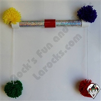Pom Pom Prayer Stick Large