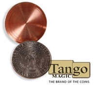 Expanded Shell Half Dollar Heads Tango