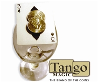 Coin Thru Card Half Dollar Tango