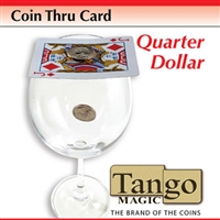 Coin Thru Card Quarter Tango