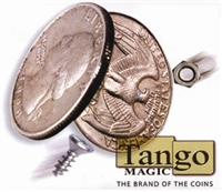 Flipper Coin Magnetic Quarter Tango