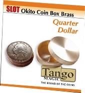 Slot Okito Coin Box Brass Quarter Tango