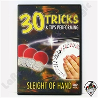 30 Tricks & Tips-SleightofHand DVD
