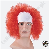 Clowning | Apparel | WIGS | Bald Curly Wigs | Red