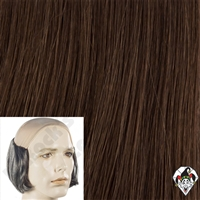 Clowning | Apparel | WIGS | Bald Tramp Wigs | Brown
