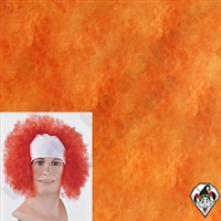 Clowning | Apparel | WIGS | Bald Curly Wigs | Yellow