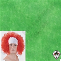 Clowning | Apparel | WIGS | Bald Curly Wigs | Green