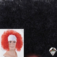 Clowning | Apparel | WIGS | Bald Curly Wigs | Black