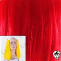 Clowning | Apparel | WIGS | Bald Straight Wigs | Red