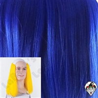 Clowning | Apparel | WIGS | Bald Straight Wigs | Blue