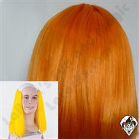 Clowning | Apparel | WIGS | Bald Straight Wigs | Orange