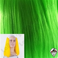 Clowning | Apparel | WIGS | Bald Straight Wigs | Green
