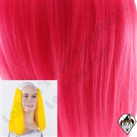 Clowning | Apparel | WIGS | Bald Straight Wigs | Pink