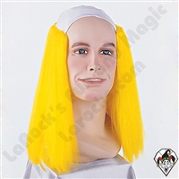 Clowning | Apparel | WIGS | Bald Straight Wigs | Yellow