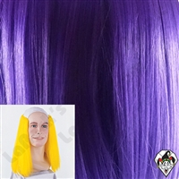 Clowning | Apparel | WIGS | Bald Straight Wigs | Purple
