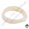 Hair Bands 3/8 inch White 10pc