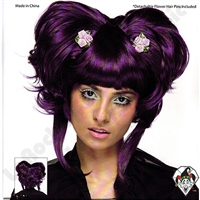 Wig Yuki Purple