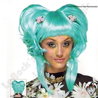 Wig Yuki Light Blue