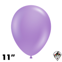 TUFTEX 11 Inch Round Pearl Lilac Balloons 100ct