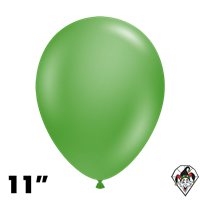 TUFTEX 11 Inch Round Metallic Green Balloons 100ct