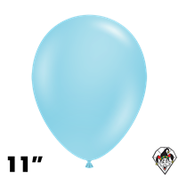 Tuftex 11 Inch Round Pastel Sea Glass Balloons 100ct