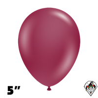 Tuftex 5 Inch Round Deluxe Sangria Balloons 50ct