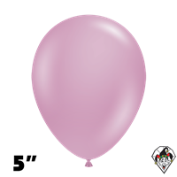 Tuftex 5 Inch Round Pastel Canyon Rose Balloons 50ct
