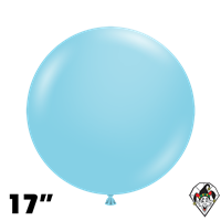 TUFTEX 17 Inch Round Pastel Sea Glass Balloons 50ct