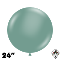 TUFTEX 24 Inch Round Pastel Willow Balloons 25ct