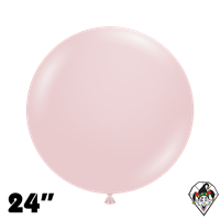 TUFTEX 24 Inch Round Pastel Cameo Balloons 25ct
