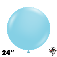 TUFTEX 24 Inch Round Pastel Sea Glass Balloons 25ct