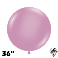 TUFTEX 36 Inch Round Pastel Canyon Rose Balloons 2ct
