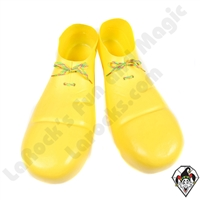 Clowning | Apparel | Clown Shoes Plastic | Yellow
