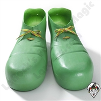 Clowning | Apparel | Clown Shoes Plastic | Green