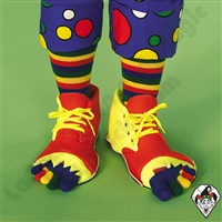 Clowning | Apparel | Clown Shoes with Toe Socks
