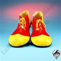 Clowning | Apparel | Clown Shoes | Clown Shoes Deluxe | Red & Yellow