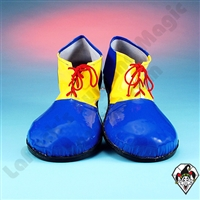 Clowning | Apparel | Clown Shoes | Clown Shoes Deluxe | Blue & Yellow