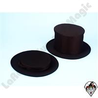 Clowning | Apparel | Hats | Collapsible Top Hat Black | Large