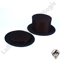 Clowning | Apparel | Hats | Collapsible Top Hat Black | Xtra Large