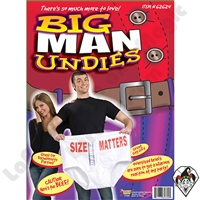 Jokes & Novelties | Jokes | Big Man Undies