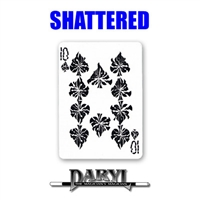 Shattered card effect by Daryl