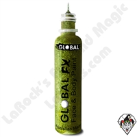 Global FX Glitter Gel Lime Green