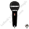 14 Inch Shape Microphone Foil Balloon Betallatex 1ct