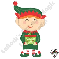43 Inch Shape Holiday Elf Foil Balloon Betallatex 1ct