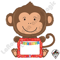 Betallic 43 Inch Shape ReMARKables Monkey Balloon 1ct