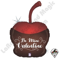 33 Inch Shape Valentine Chocolate Cherry Foil Balloon Betallic 1ct