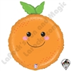 26 Inch Shape Produce Pals Orange Foil Balloon Betallatex 1ct