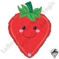 26 Inch Shape Produce Pals Strawberry Foil Balloon Betallatex 1ct
