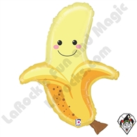 30 Inch Shape Produce Pals Banana Foil Balloon Betallatex 1ct